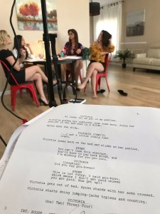 Behind the Scenes of Lesbian Legal 17