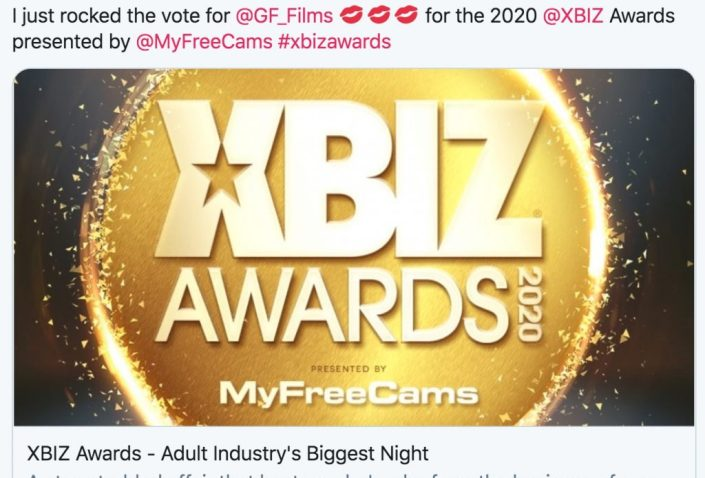 Girlfriends Films XBIZ Awards