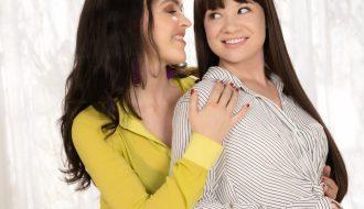Krissy Lynn and Alison Rey