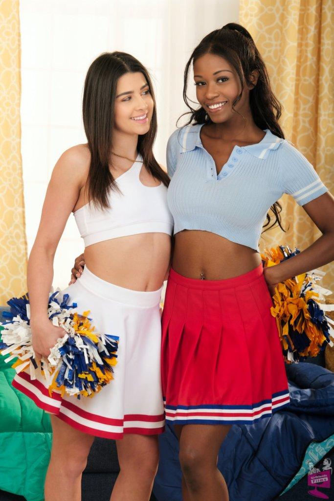 Kylie Rocket and Jezabel Vessir Cheer Squad Sleepovers 35 Girlfriends Films