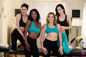 Cast of Bad Lesbian 13 Girlfriends Films