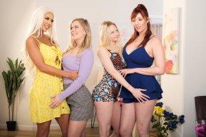 Cast of Mother-Daughter Exchange Club 61