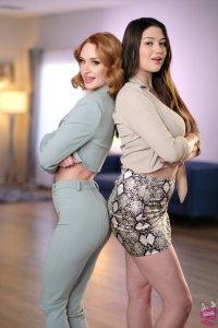 Alyx Star and Daisy Stone