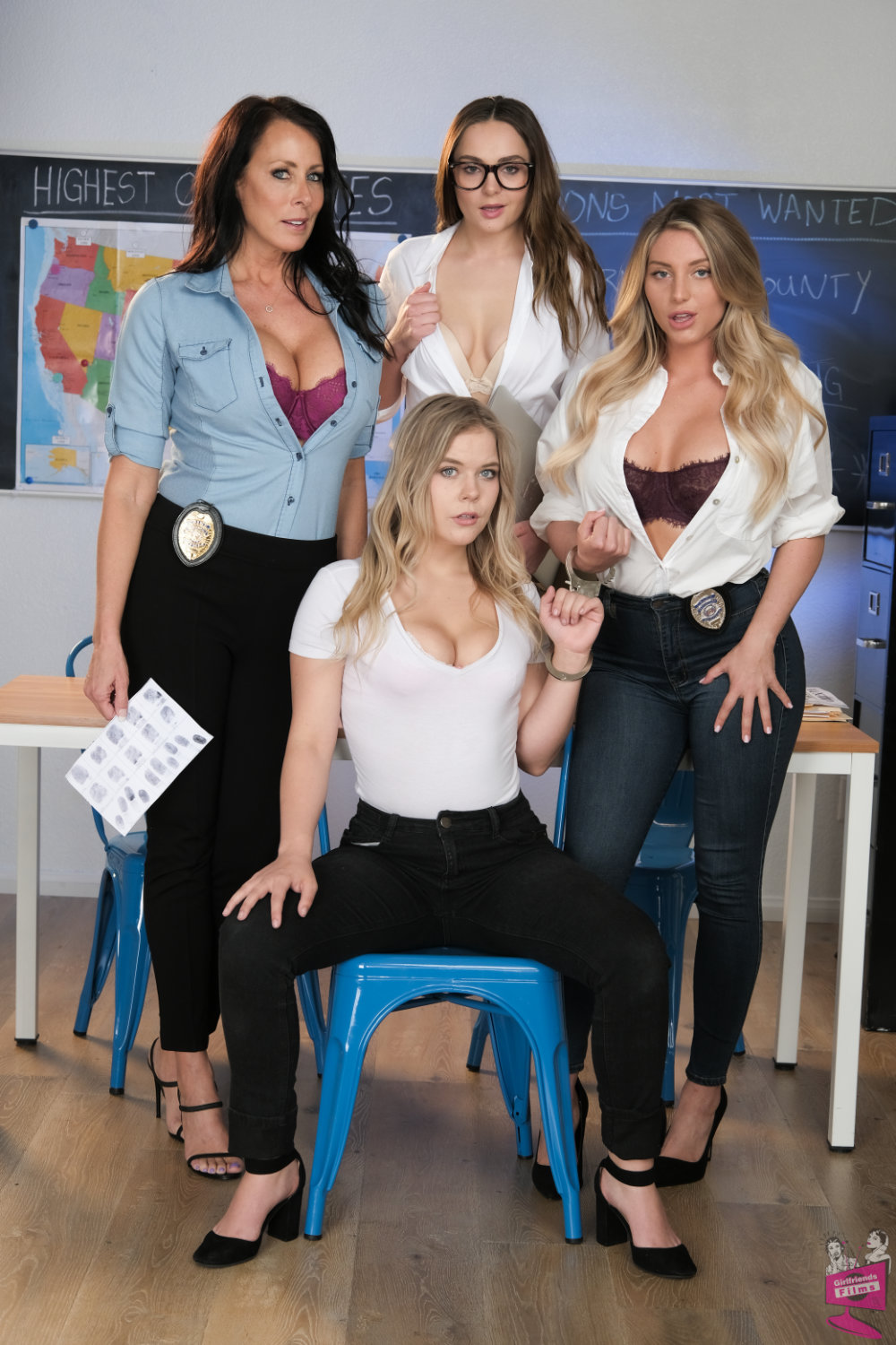 Cast of Lesbian Crime Stories 5