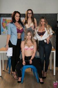 Cast of Lesbian Crime Stories 5