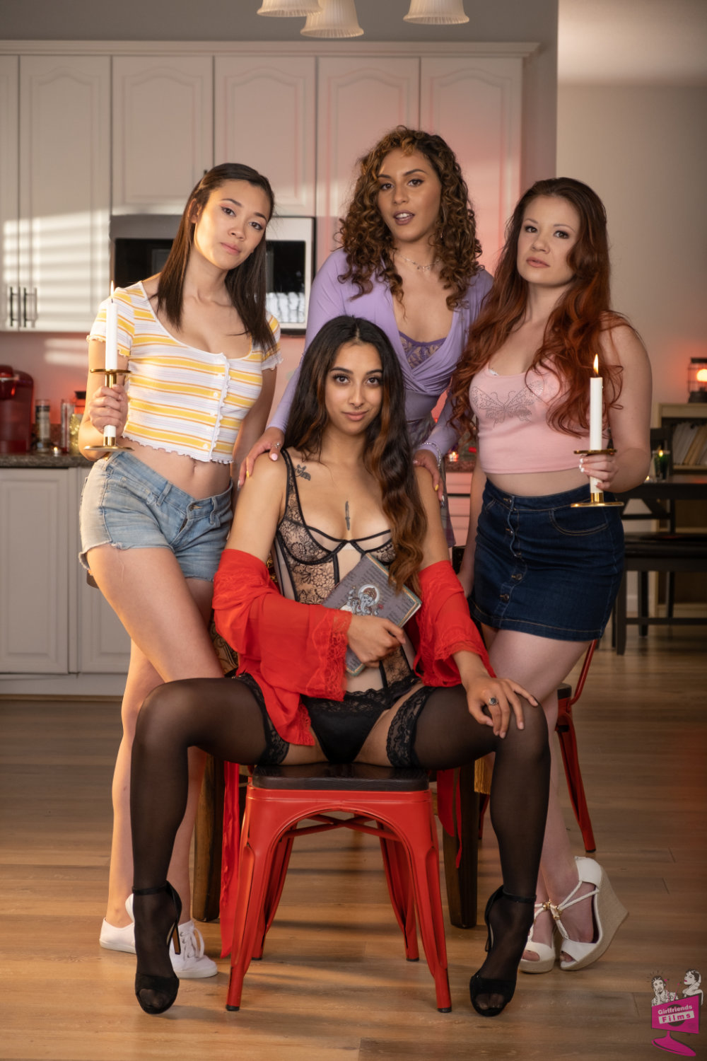 Cast of Secret Lesbian Diaries 10