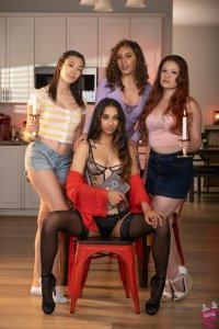 Cast of Secret Lesbian Diaries 10