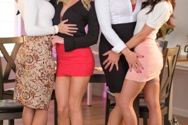 Cast of Lesbian Legal 19