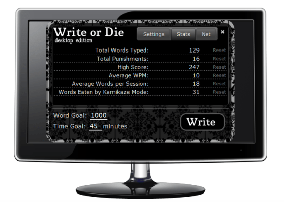 """Write or Die Putting the """"Prod"""" in Productivity"""