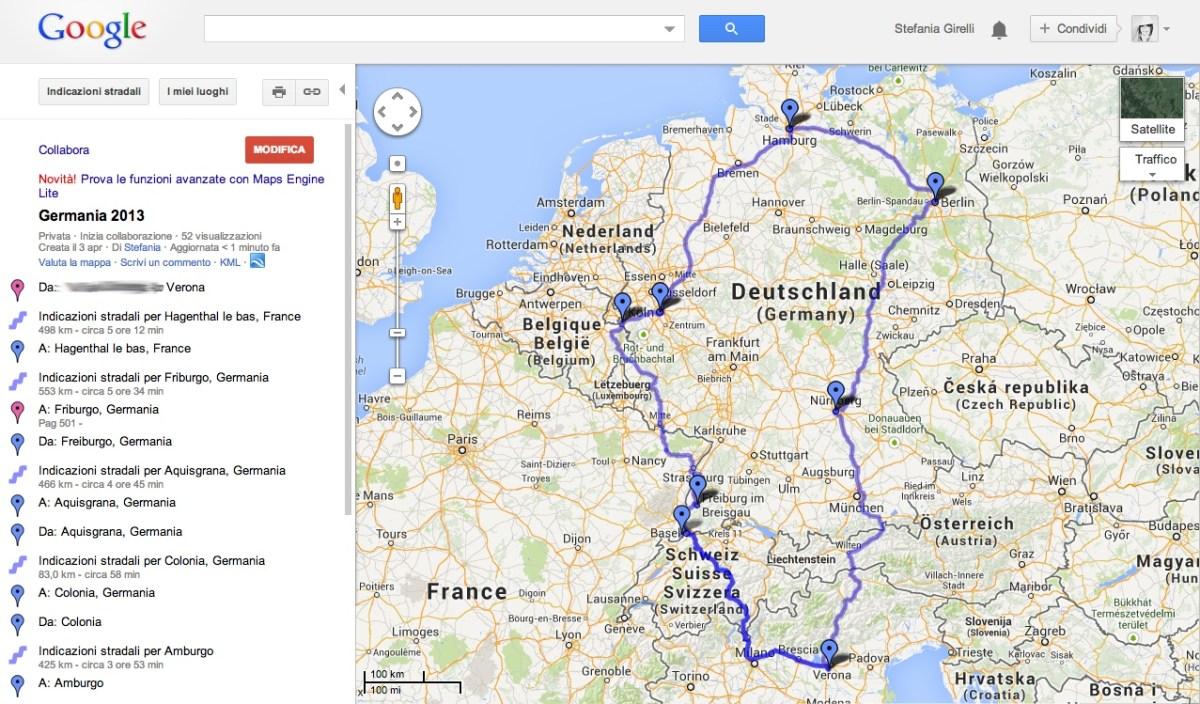 Le 10 app per organizzare un viaggio in auto in giro per l'Europa