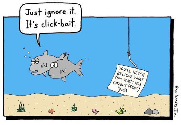click-baiting