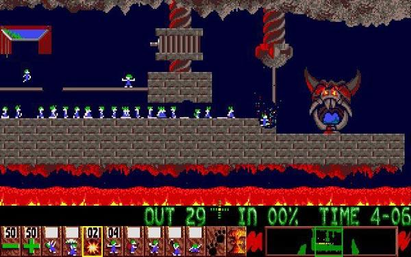 lemmings-2 amiga emulator