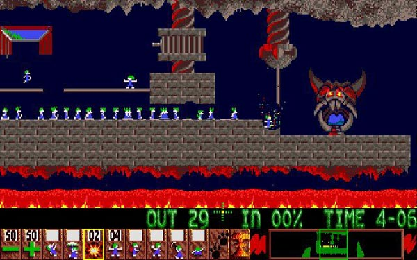 lemmings-2 amiga emulator