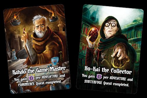 Quests of Valeria Citizen Cards