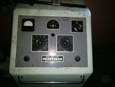 Newsham Park Asylum ECT machine