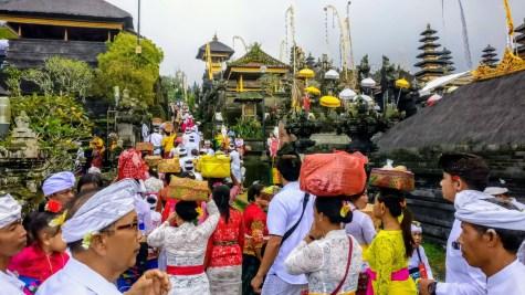Bali Honeymoon BesakihTemple Hindus