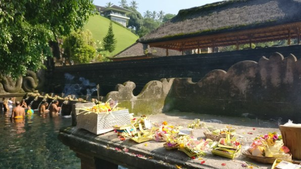 Bali Honeymoon Tirta Empul Temple holy water