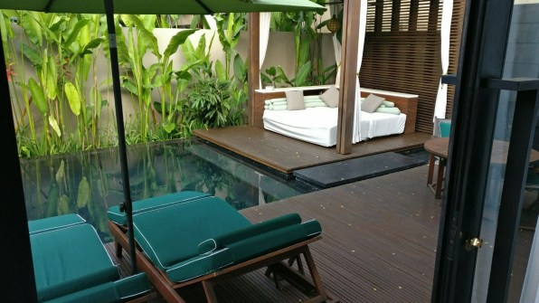 Bali Honeymoon W Hotel Marvelous Villa sundeck