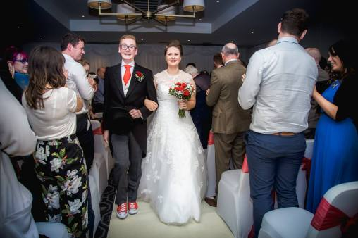 Geek Wedding Converse Ceremony