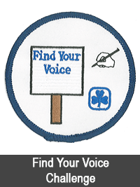 Find Your Voice Challenge