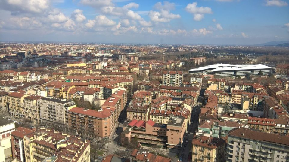 View from the top ofMole Antonelliana