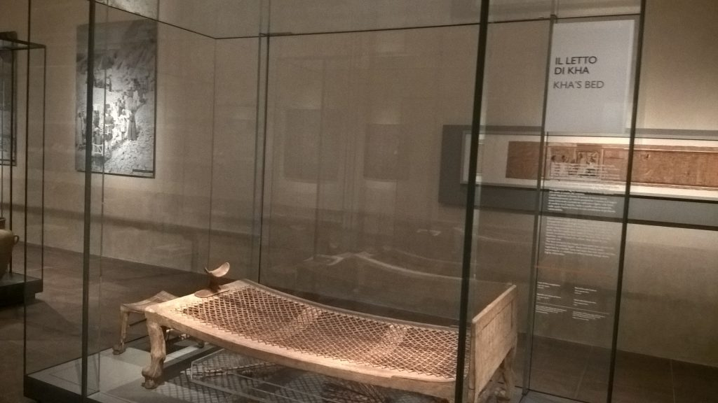Kha's Bed, Egyptian Museum