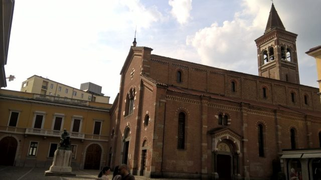 Palazzo dell'Arengario or town hall in Piazza Roma, Monza