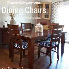 Reupholster Dining Chairs Milo Baughman Swivel Chair Your And Save 200 Girl Just Diy Thanks For Visiting Today Viewing My Tutorial If You Decide To Own I D Love Hear How It Turned Out See A Picture