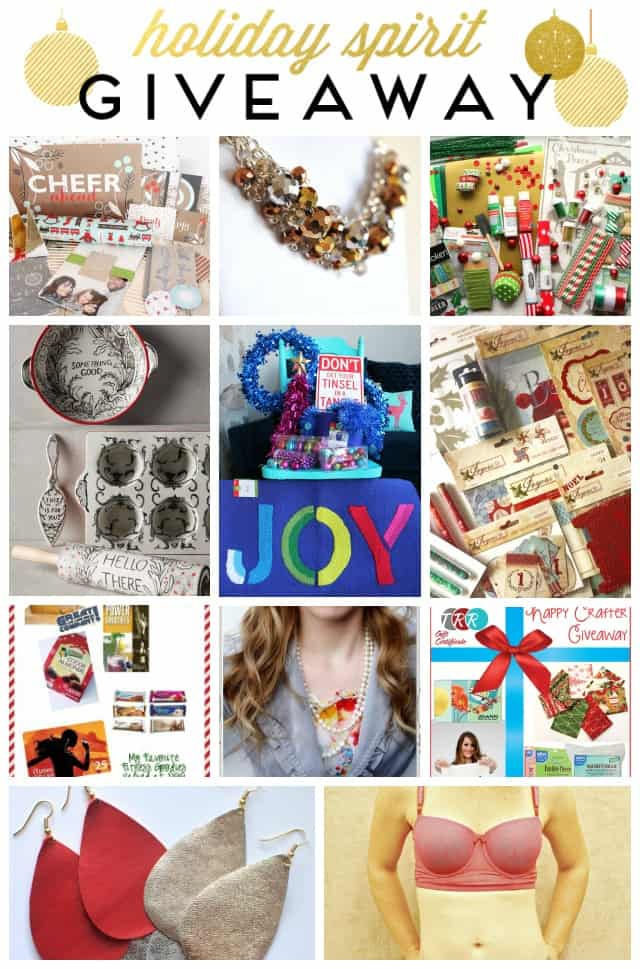 Holiday Spirit Giveaway Collage