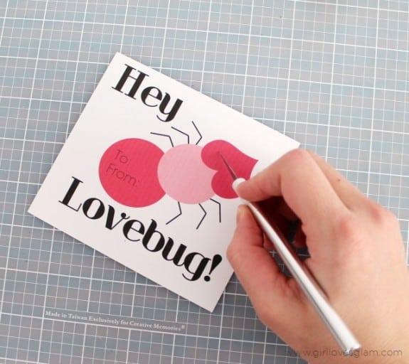DIY Printable Valentine