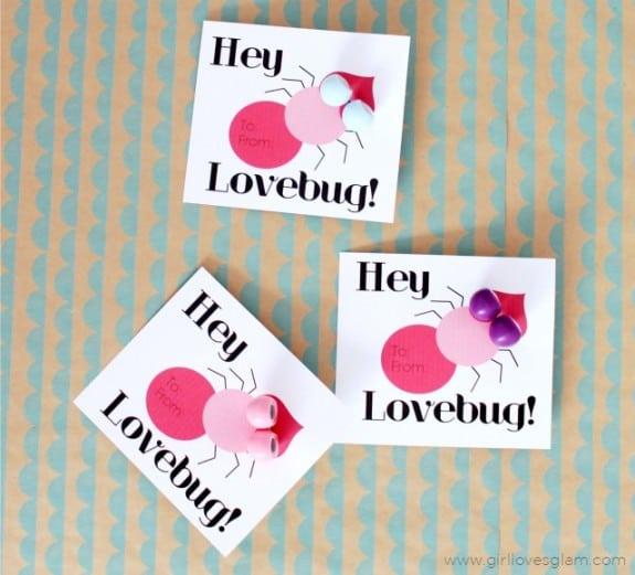 Lovebug Non Candy Valentine