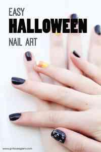 Easy Halloween Nail Art - Girl Loves Glam