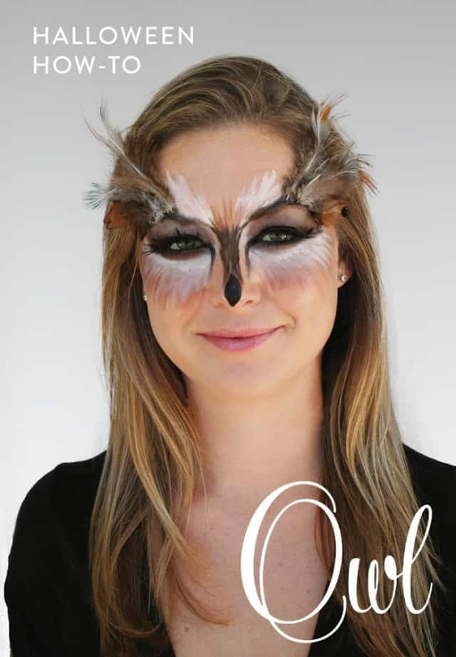Owl Makeup Tutorial