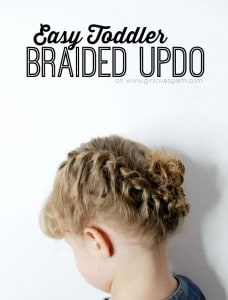 Easy Toddler Braided Updo1