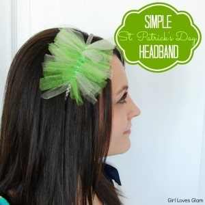 Simple St. Patrick's Day Headband Tutorial