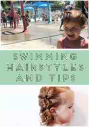 swimming hairstyles and tips