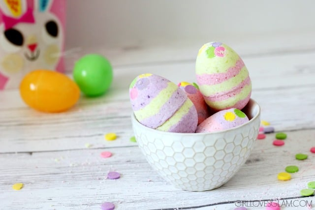 Cotton Candy Easter Egg Bath Bomb Recipe  Girl Loves Glam