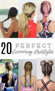 perfect swimming hairstyles
