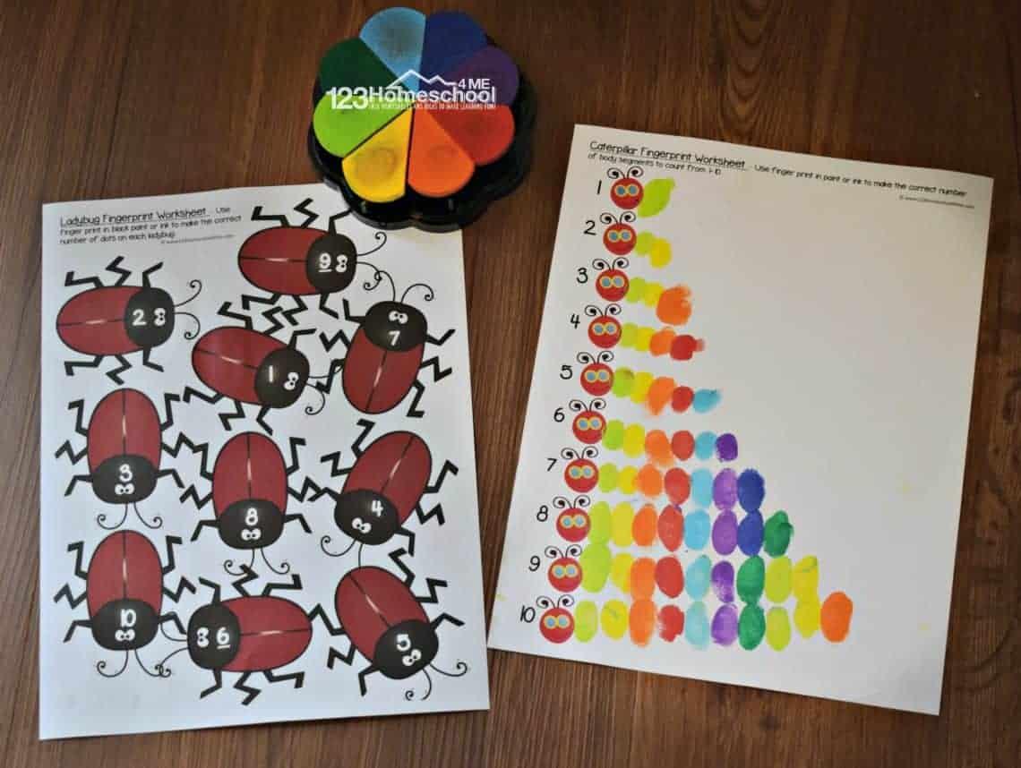 20 Preschool Printable Activities