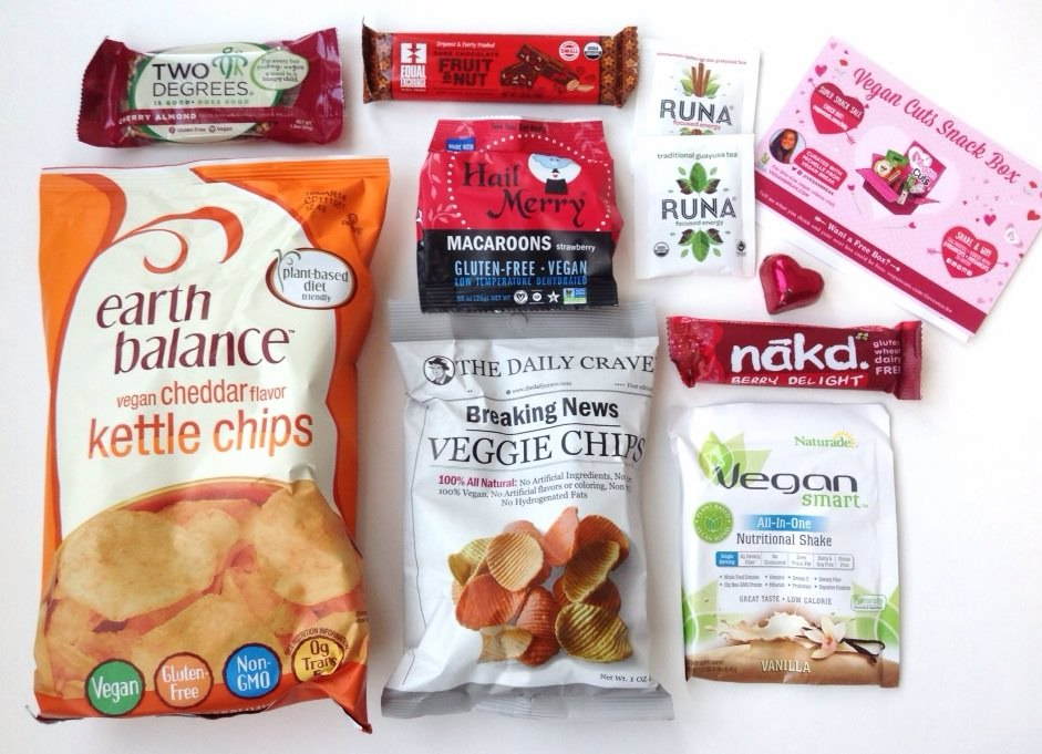 Vegan Cuts Snack Box Review February 2014 Girl Meets Box