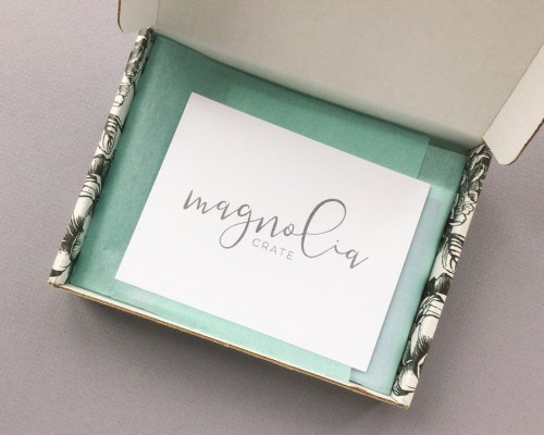 Magnolia Crate Subscription Box Review + Coupon Code – May 2017
