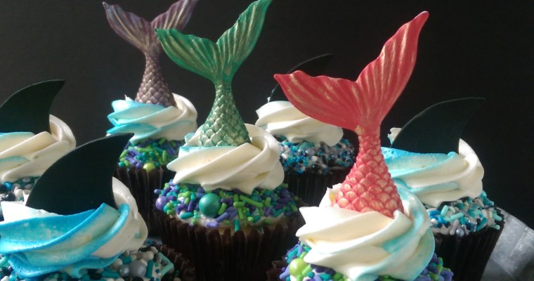 Under the Sea Cake & Cupcakes