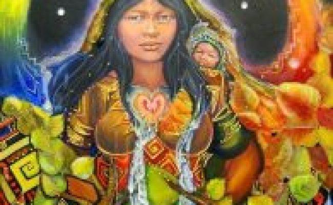 Mythological Girls Pachamama Girl Museum