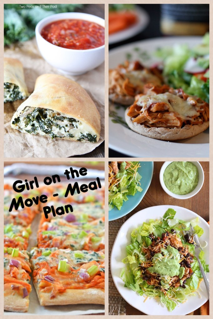 Meal Plan Week 6 | Girl on the Move Blog