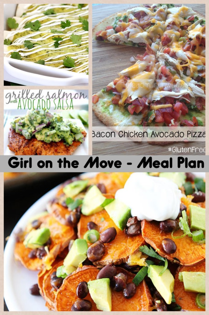 Meal Plan Week Four | Girl on the Move Blog