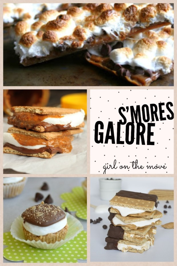 20+ S'mores Recipes | Girl on the Move Blog