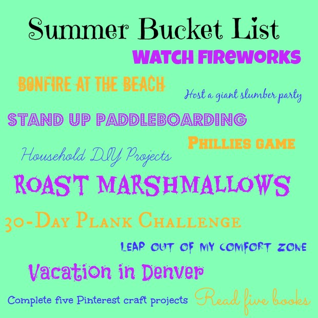 Summer 2014 Bucket List | Girl on the Move Blog