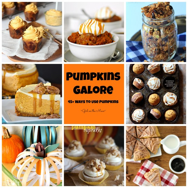 Pumpkins Galore | Girl on the Move #pumpkins