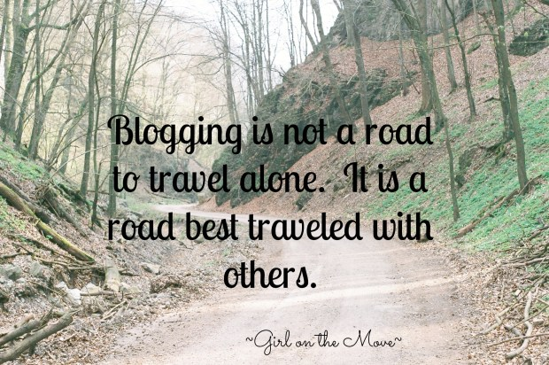 Blogging is Best With Others