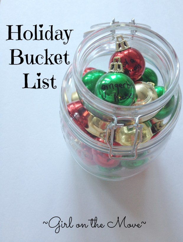 Holiday Bucket List #merryblogmas